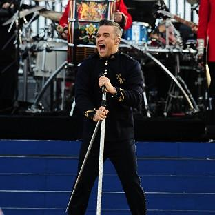 Robbie Williams is bringing out his own clothing line