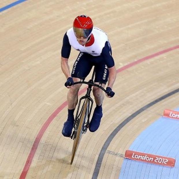 Shaun McKeown won silver in the C3 3km individual pursuit in London
