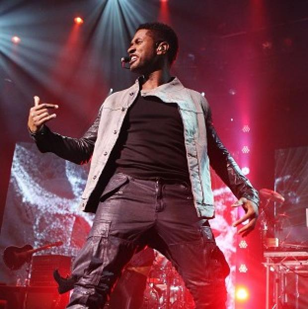 Usher performs on the first day at the iTunes Festival at the Roundhouse in London