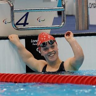 Ellie Simmonds smashed her own world record in the SM6 200m individual medley