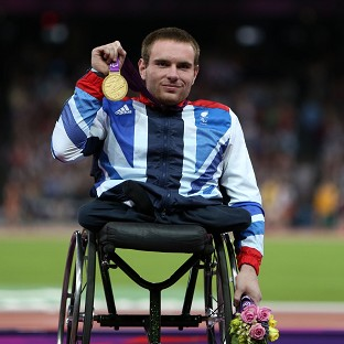 Mickey Bushell, pictured, says David Weir inspired him