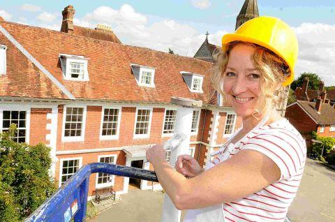 Sarum College gets spruced up