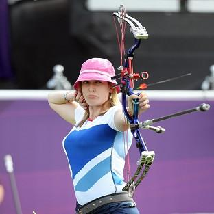 Danielle Brown won individual compound gold, seeing off Mel Clarke