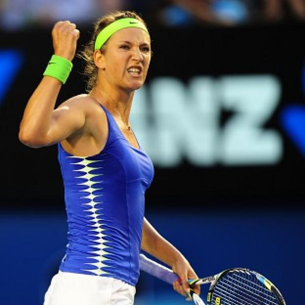 Victoria Azarenka is through to the last four of the US Open