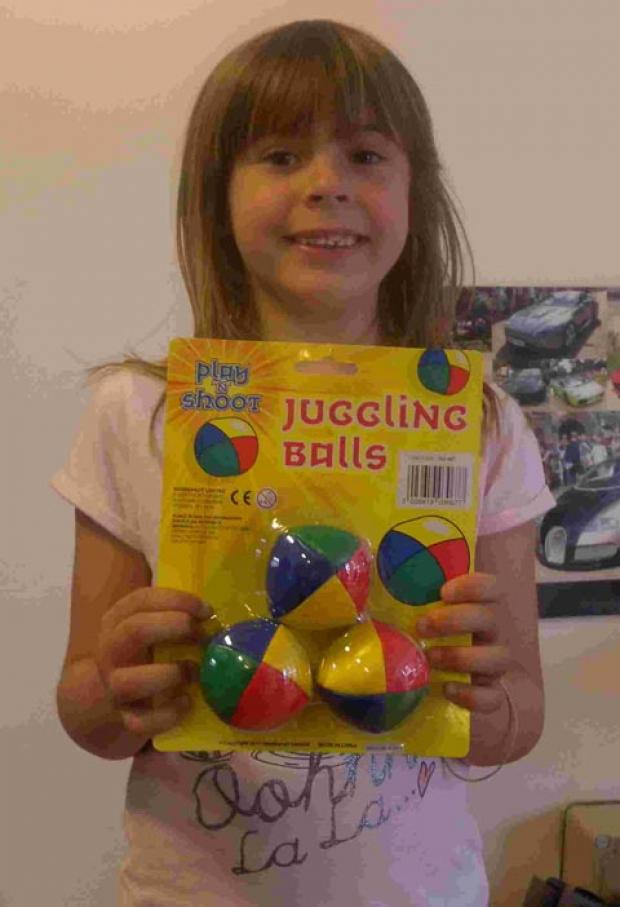 Gang winner Ella Ball-Ingram.