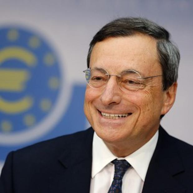 Mario Draghi has announced that the ECB will buy up government bonds of struggling eurozone countries (AP)