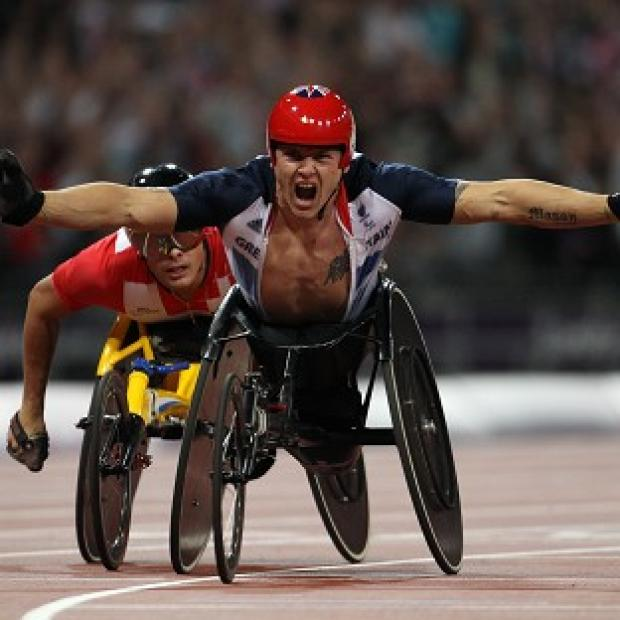 David Weir has won his third gold of London 2012