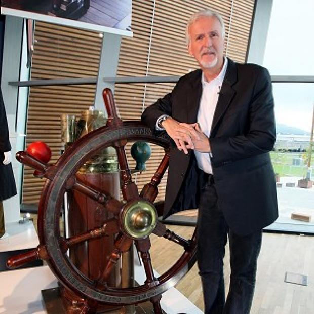 James Cameron unveiled a special exhibition in honour of his Academy Award winning film