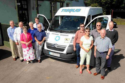 New bus for Tisbus scheme