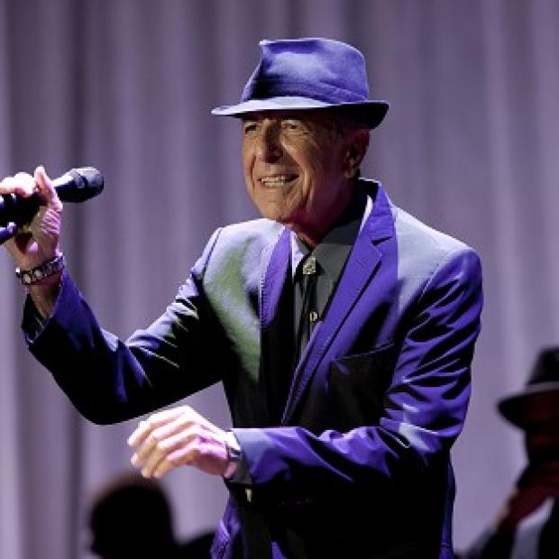 Leonard Cohen performed his classics at Wembley Arena