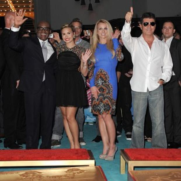 Salisbury Journal: LA Reid, Demi Lovato, Britney Spears and Simon Cowell make up the judging panel on US X Factor
