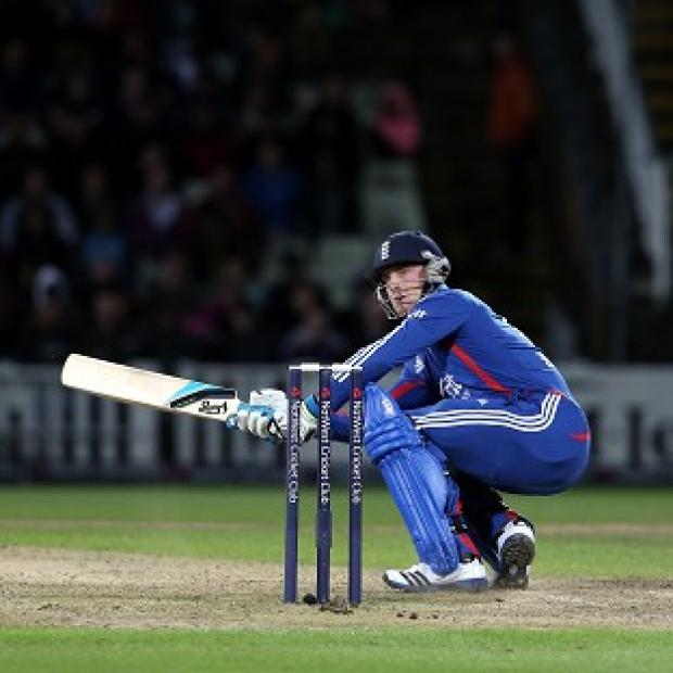 England's Jos Buttler smashed 32 off just 10 balls at Edgbaston