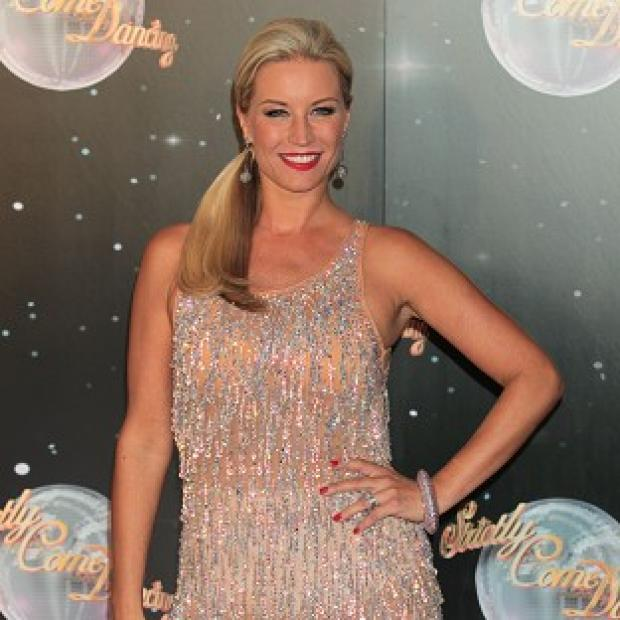 Denise Van Outen said she is hoping to learn a new skill on the dancefloor