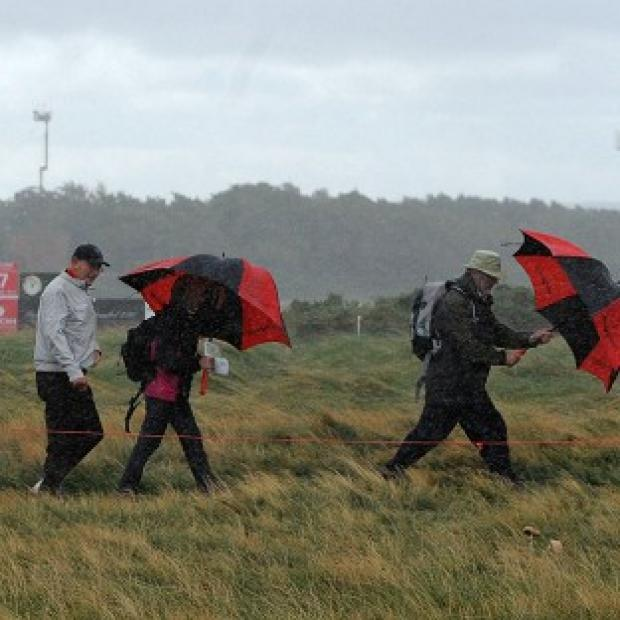 The weather has plaved havoc at the Ricoh Women's British Open
