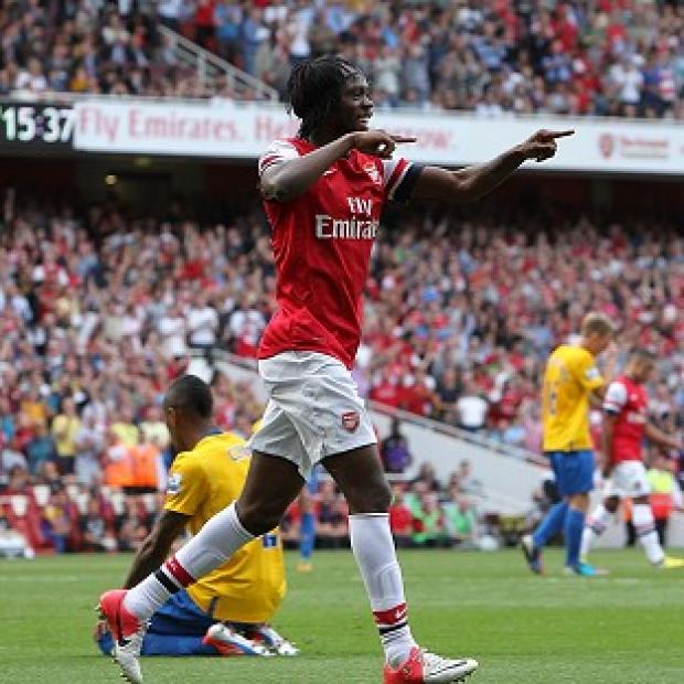 Salisbury Journal: Gervinho scored a brace in Arsenal's triumph over Southampton