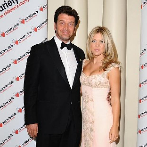 TV presenter Nick Knowles says his new wife makes him a 'happier, calmer, far nicer person'