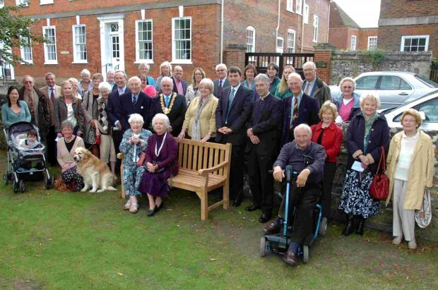 Bench celebrates 50 years of Samaritans