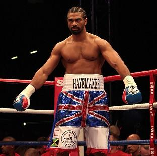 David Haye is hoping to fight under the British Boxing Board of Control once again