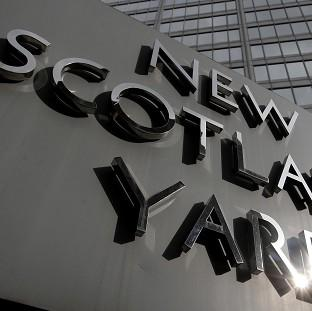 Scotland Yard said three people have been arrested by police officers working on Operation Elveden