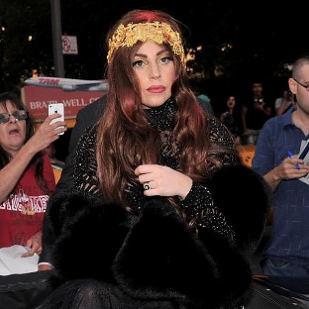 Lady Gaga has been talking about marijuana with her fans in Amsterdam