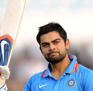 Virat Kohli hit 50 in 39 balls for India