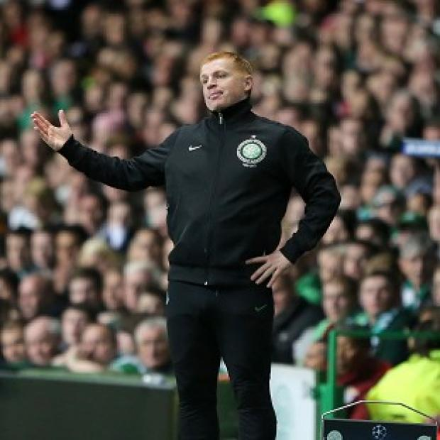 Celtic manager Neil Lennon during the clash with Benfica