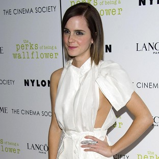 Emma Watson said her kissing scene in her latest film was pretty intense