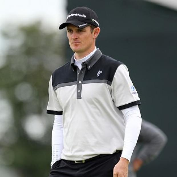 Justin Rose hit six birdies in his first round