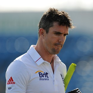 Kevin Pietersen, pictured, told Dan Carter he hopes to be on the New Zealand tour