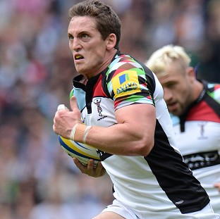 Tom Williams scored the only try as Harlequins overcame Leicester