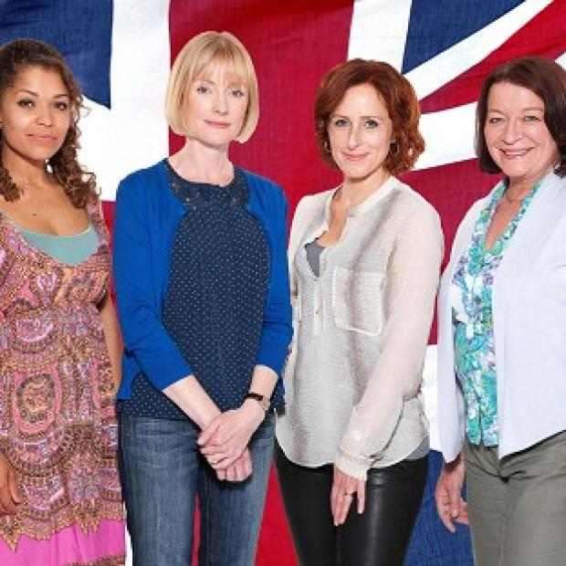 Clare Higgins, Antonia Thomas, Claire Skinner and Nicola Stephenson star in Homefront