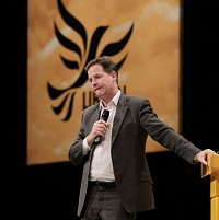 Clegg: Start at the top on tax