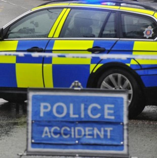A man found dead in a North Yorkshire road crash had been stabbed, police said