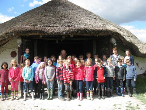 Leehurst pupils learn about the Iron Age