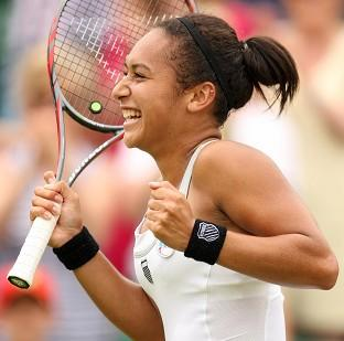 Heather Watson is through to the second round of the Toray Pan Pacific Open