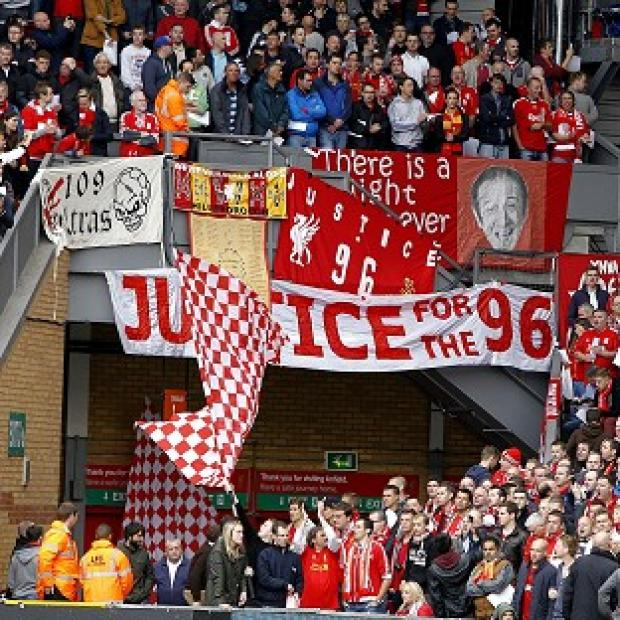 Salisbury Journal: There were emotional scenes before Sunday's game at Anfield