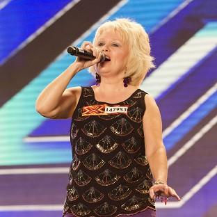 Alison Brunton performing during the Manchester auditions for this year's X Factor