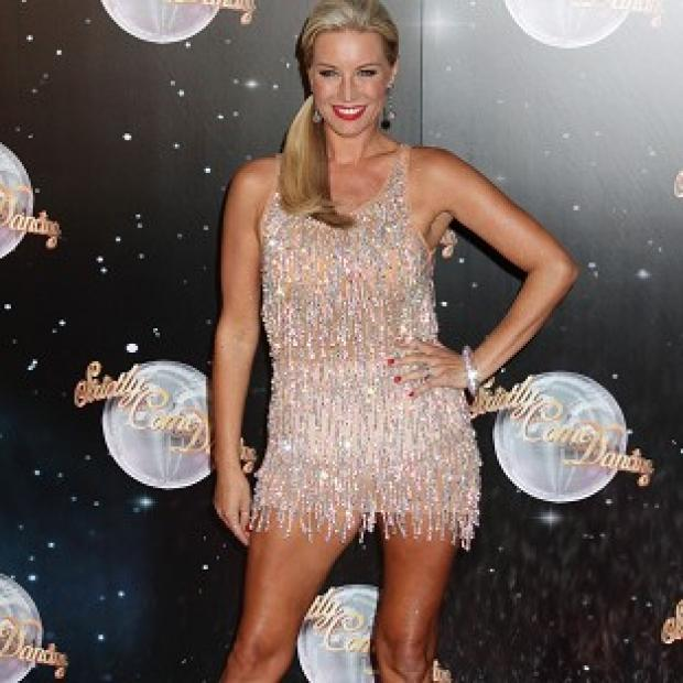 Denise Van Outen is one of the Strictly stars struck by a bug