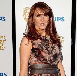 Catherine Tate has been spotted with TV host Adrian Chiles