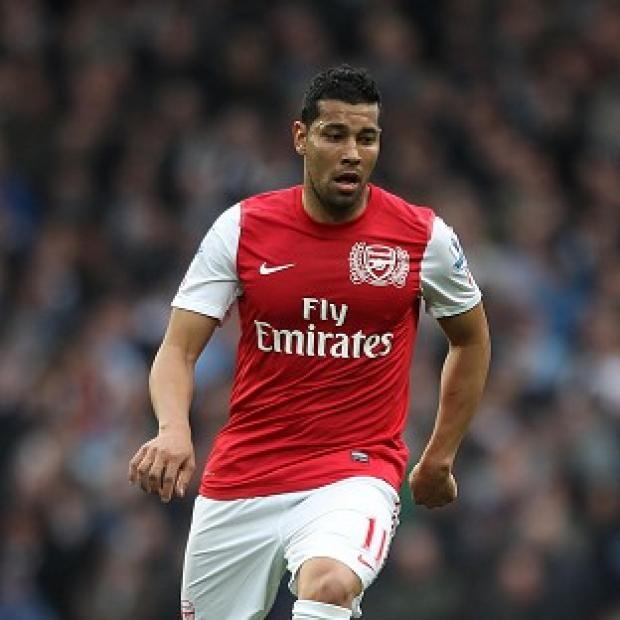 Arsenal defender Andre Santos has been banned from driving for 12 months