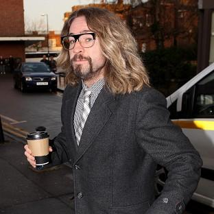 Justin Lee Collins is accused of harassing his ex-girlfriend