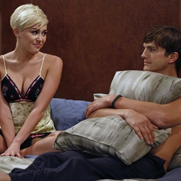 Miley Cyrus is guest starring in Two And A Half Men