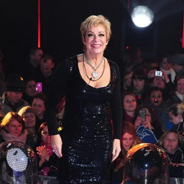 Salisbury Journal: Denise Welch was filmed by fiance Lincoln Townley
