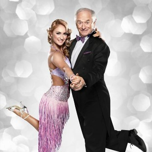 Aliona Vilani was due to dance with Johnny Ball in the first live Strictly show