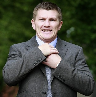 Ricky Hatton will return to the ring on November 24