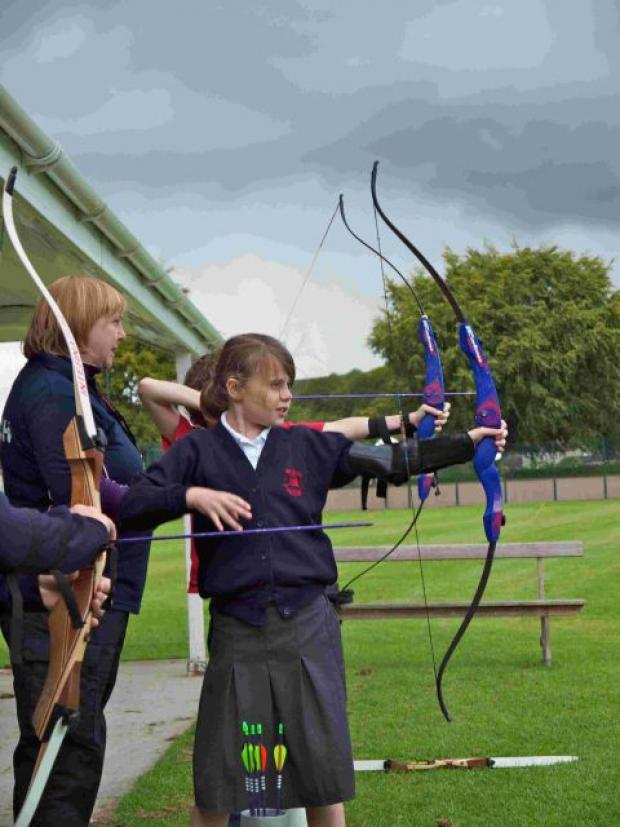 Salisbury Journal: Archery club success in Mere
