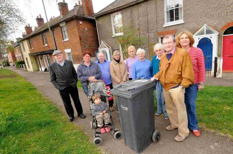 Greencroft residents win rubbish row