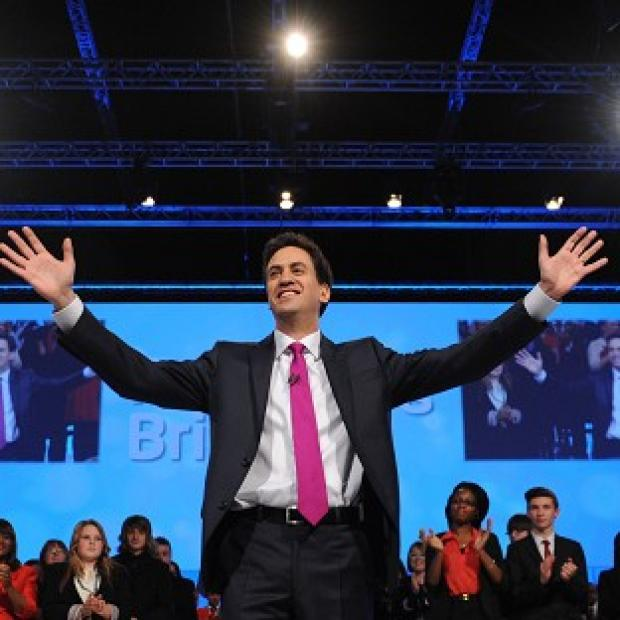 Salisbury Journal: Labour leader Ed Miliband delivers his keynote speech at the Labour Party Conference in Manchester
