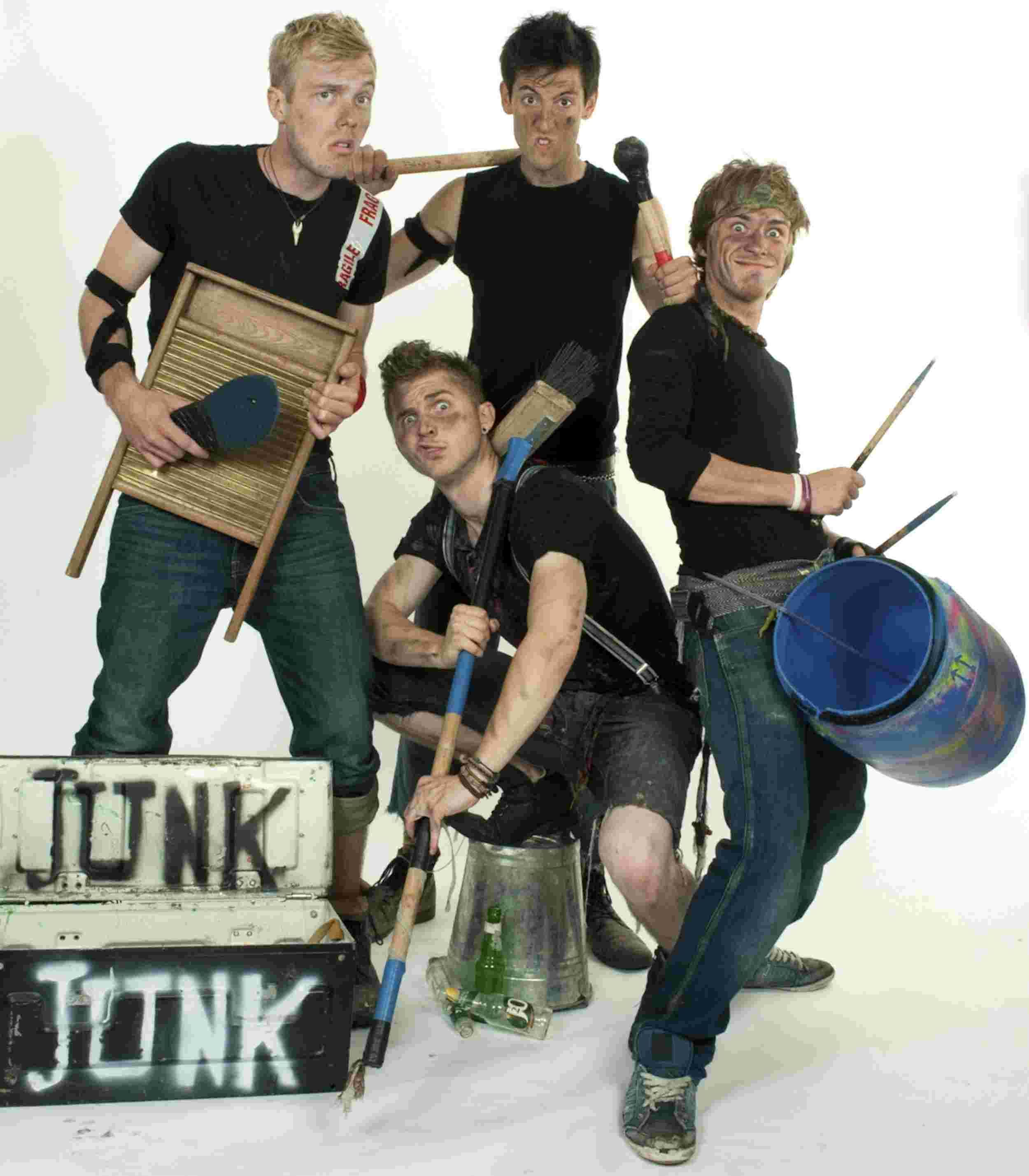 JuNK, featuring the New Forest's Jake Briggs, Russell Brooks, Sam McGowan and Jay Osborne.