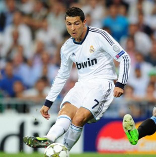 Cristiano Ronaldo was in fine form for Madrid with another hat-trick